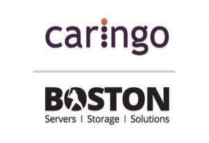 Caringo and Boston Logos