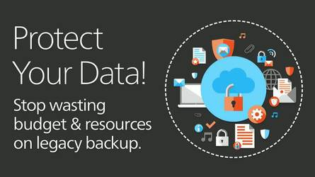 Stop Wasting Budget and Resources on Legacy Backup